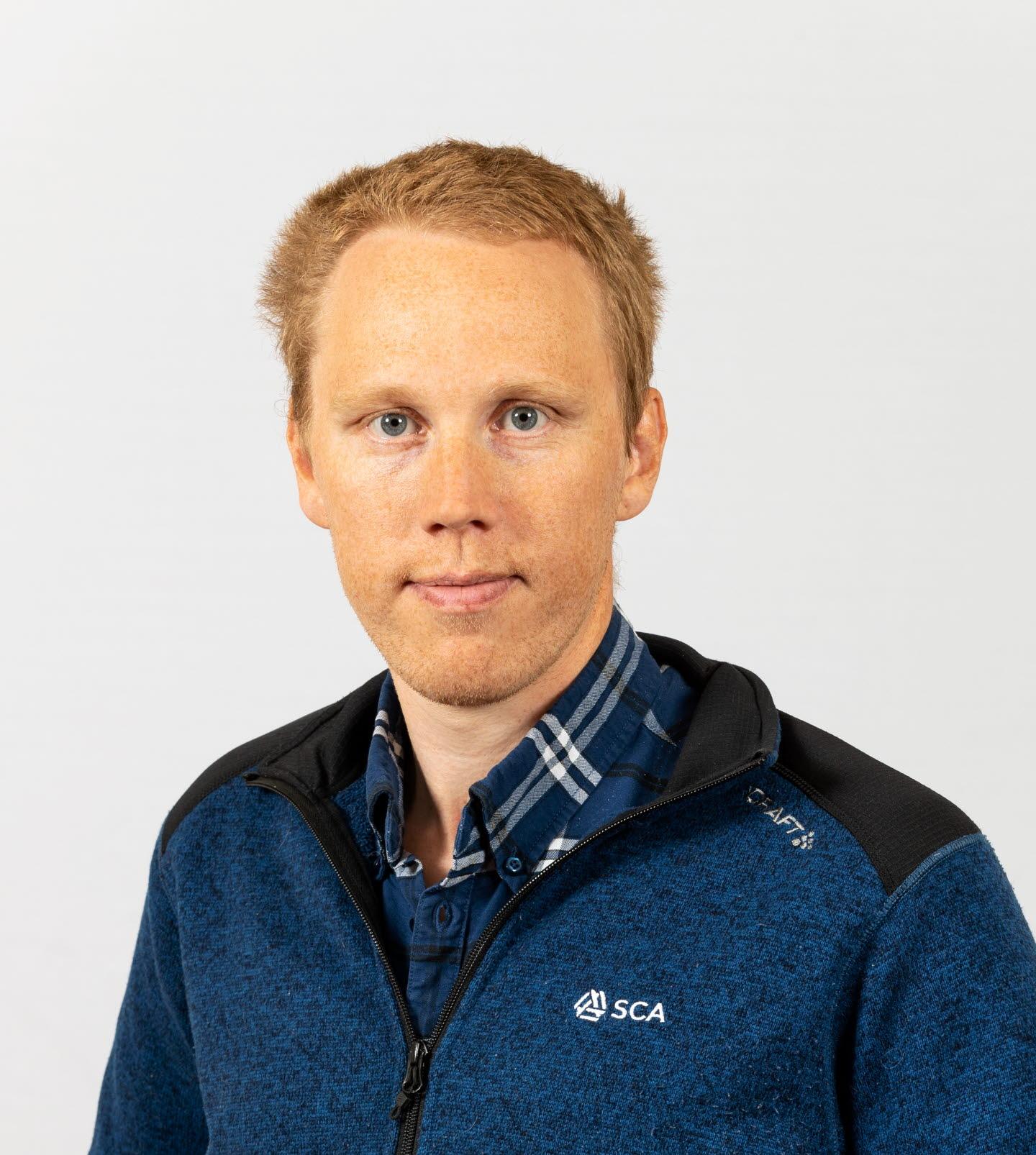 Johan Stenvall, virkesköpare Västerbotten