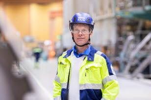 Per Strand, projektdirektör projekt Aurora, Obbola.