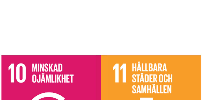 FNs globala mål 10,11