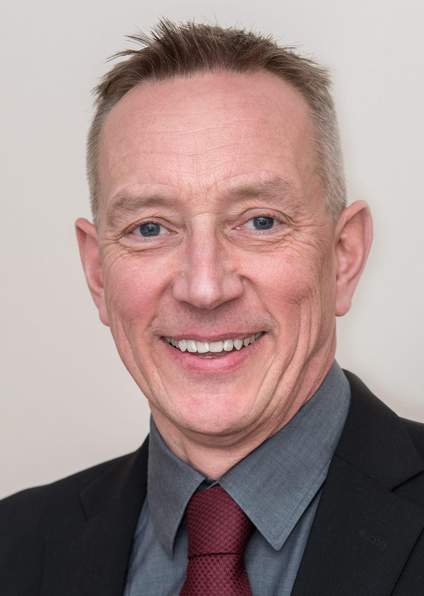 Magnus Persson, försäljningschef pappersmassa Norden. Östrand.