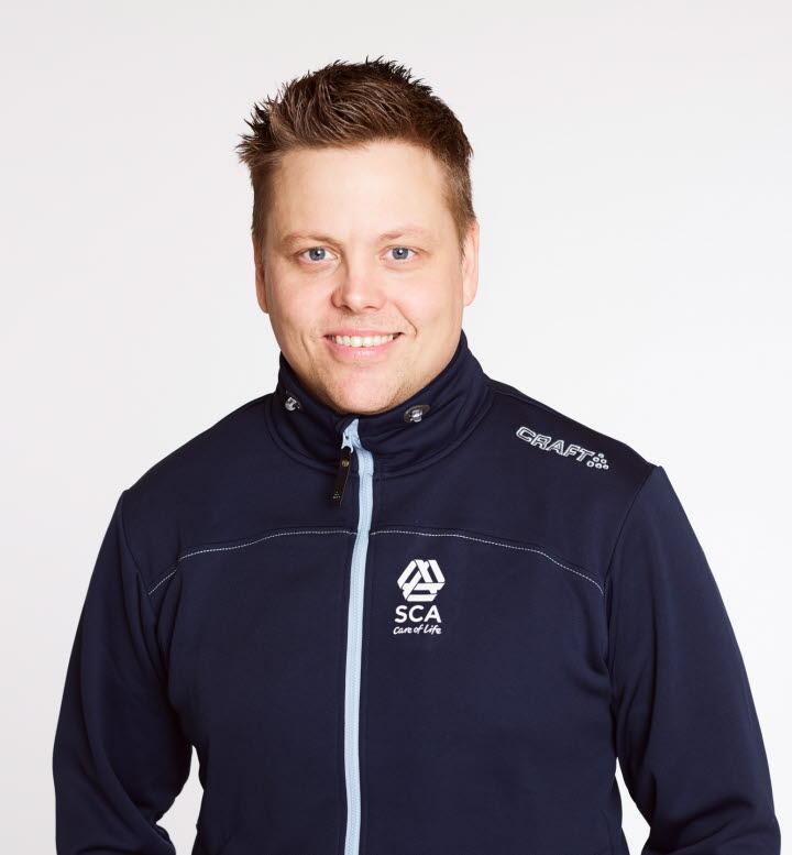Jerker Uusitalo, virkesköpare i Råneå, SCA Skog.