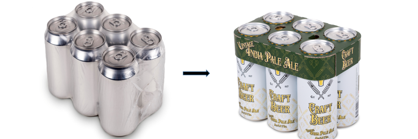 Plastic wrapping vs multipack