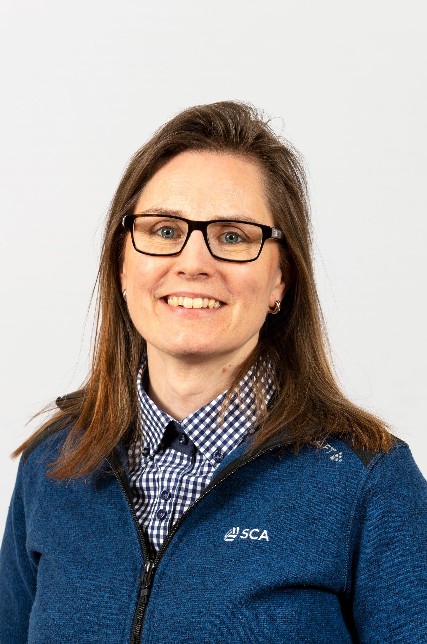 Linda Renström, administratör Västerbotten