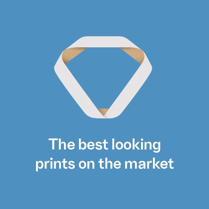 SCA Kraftliner White Top The best looking prints on the market