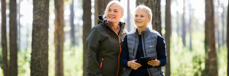 Mimmi Almqvist och Victoria Bäckström