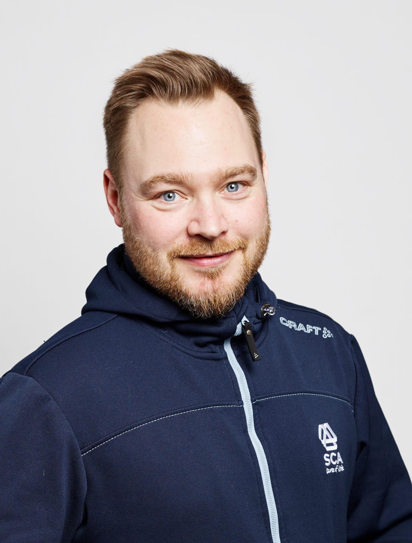Helge Hedlund virkesköpare Norrbotten
