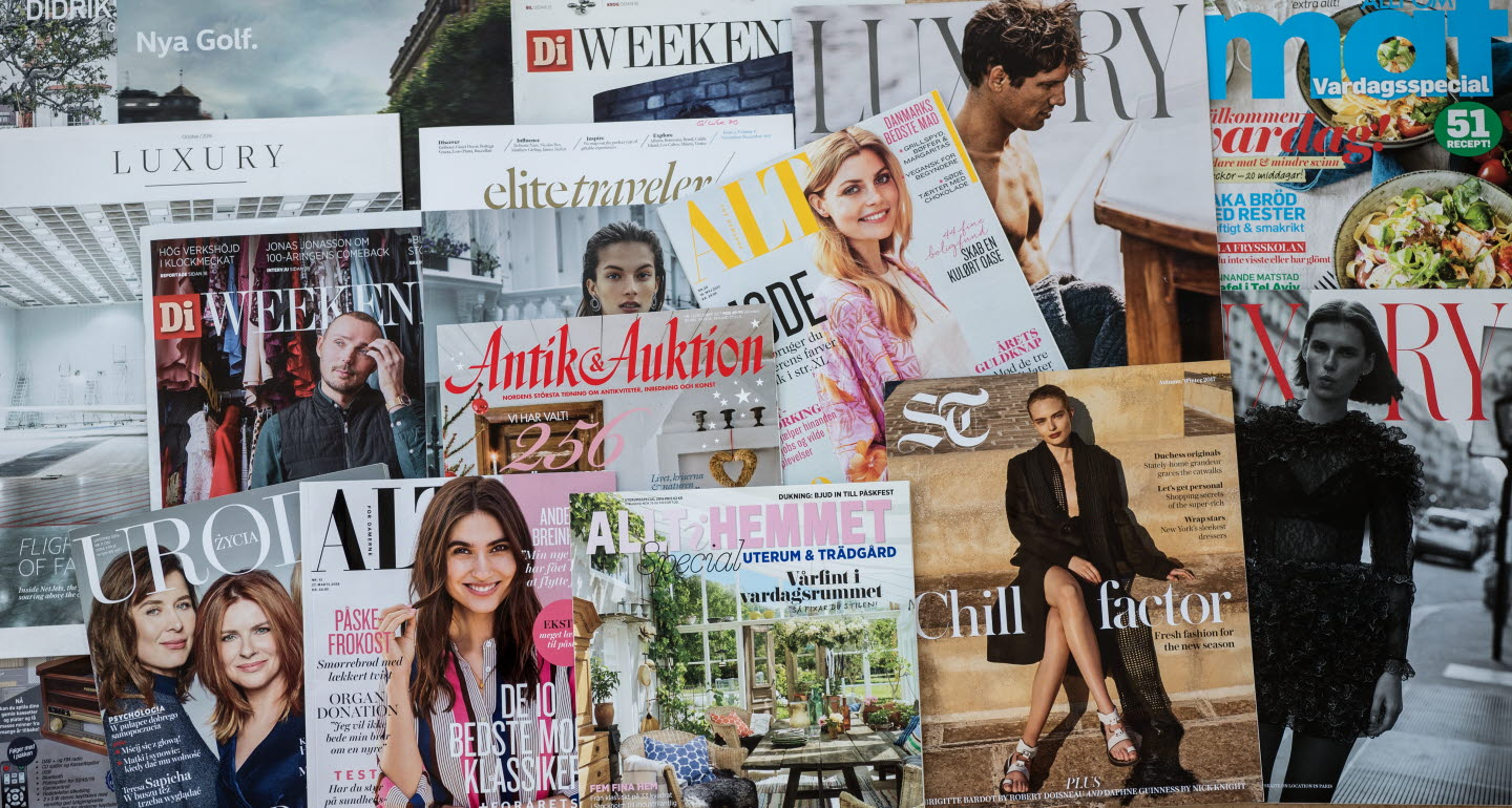 Magazines printed on paper from Publication Papers.