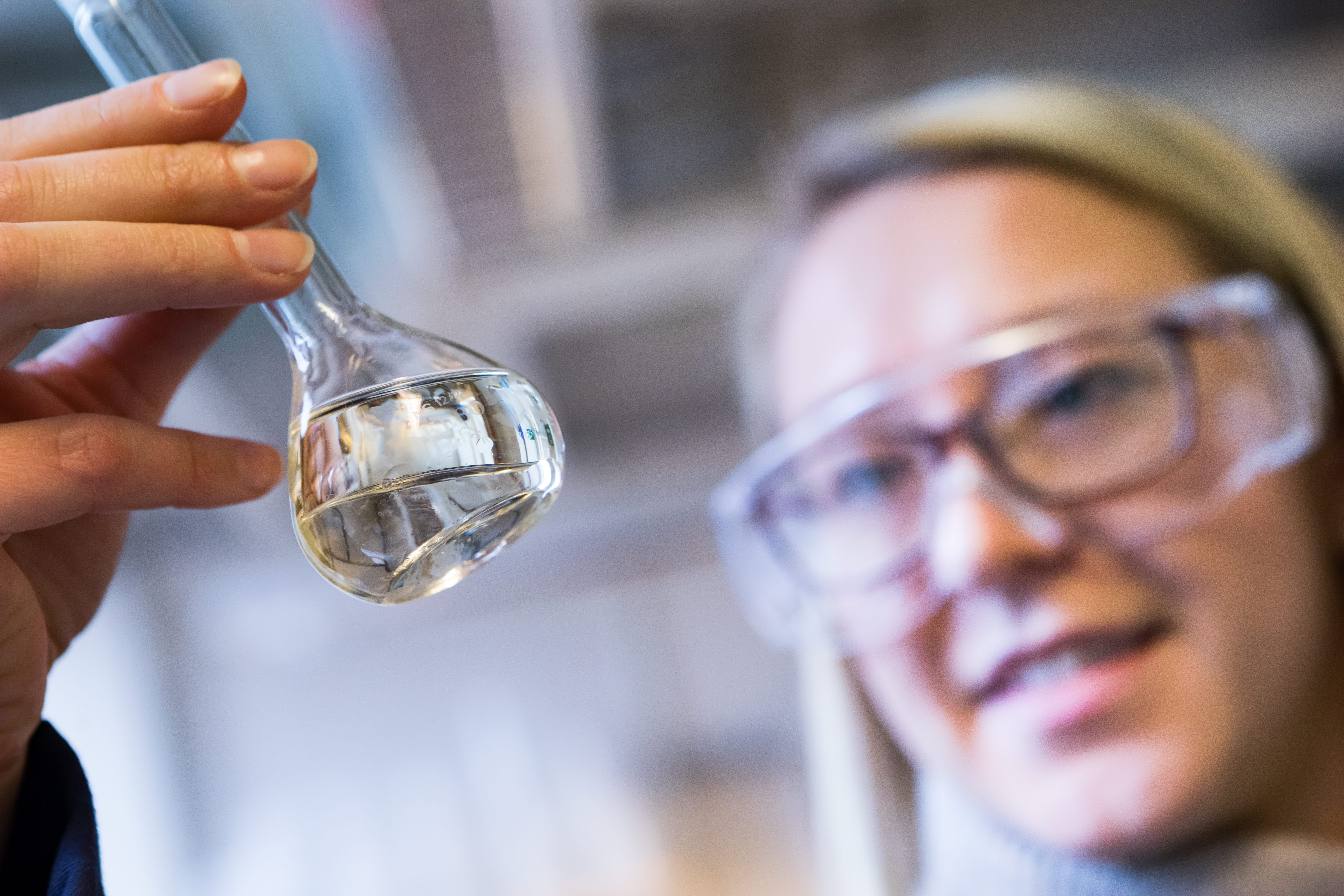 Therese Nylander, affärsutvecklare arbetar med utveckling av biodrivmedel hos SCA.