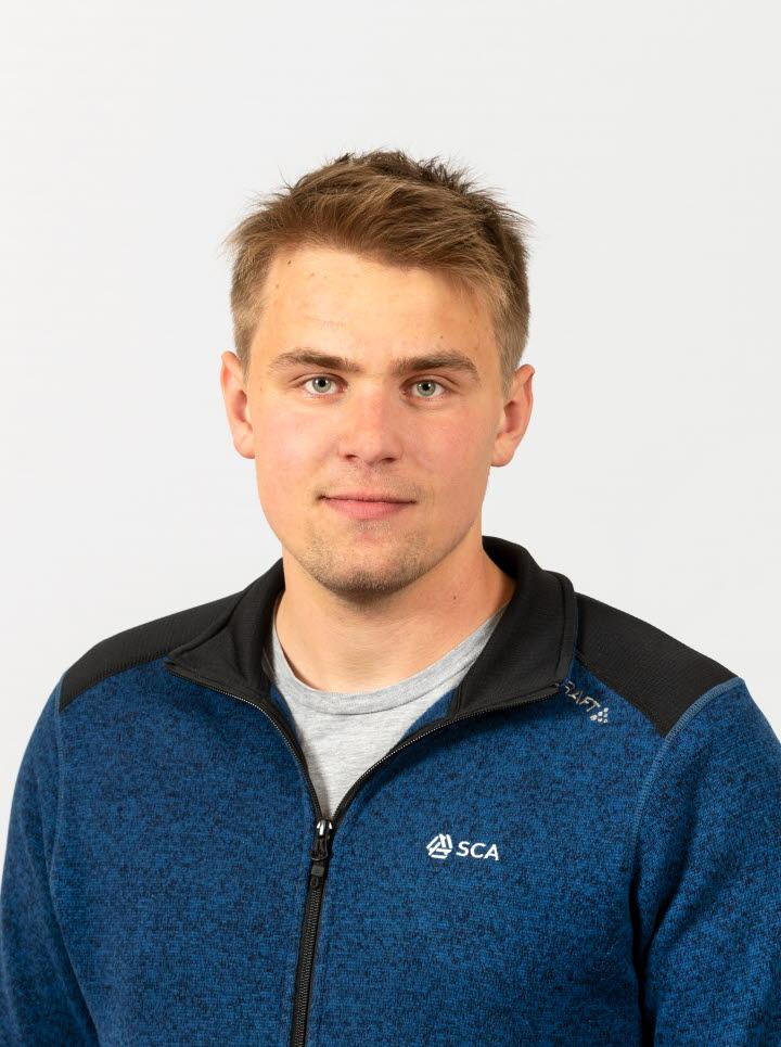 Elof Grönlund, virkesköpare Västerbotten