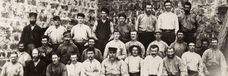Galtström arbetare 1894, valsverket