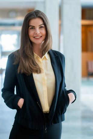 Josefine Bonnevier Josefine Bonnevier, chef Investor Relations.