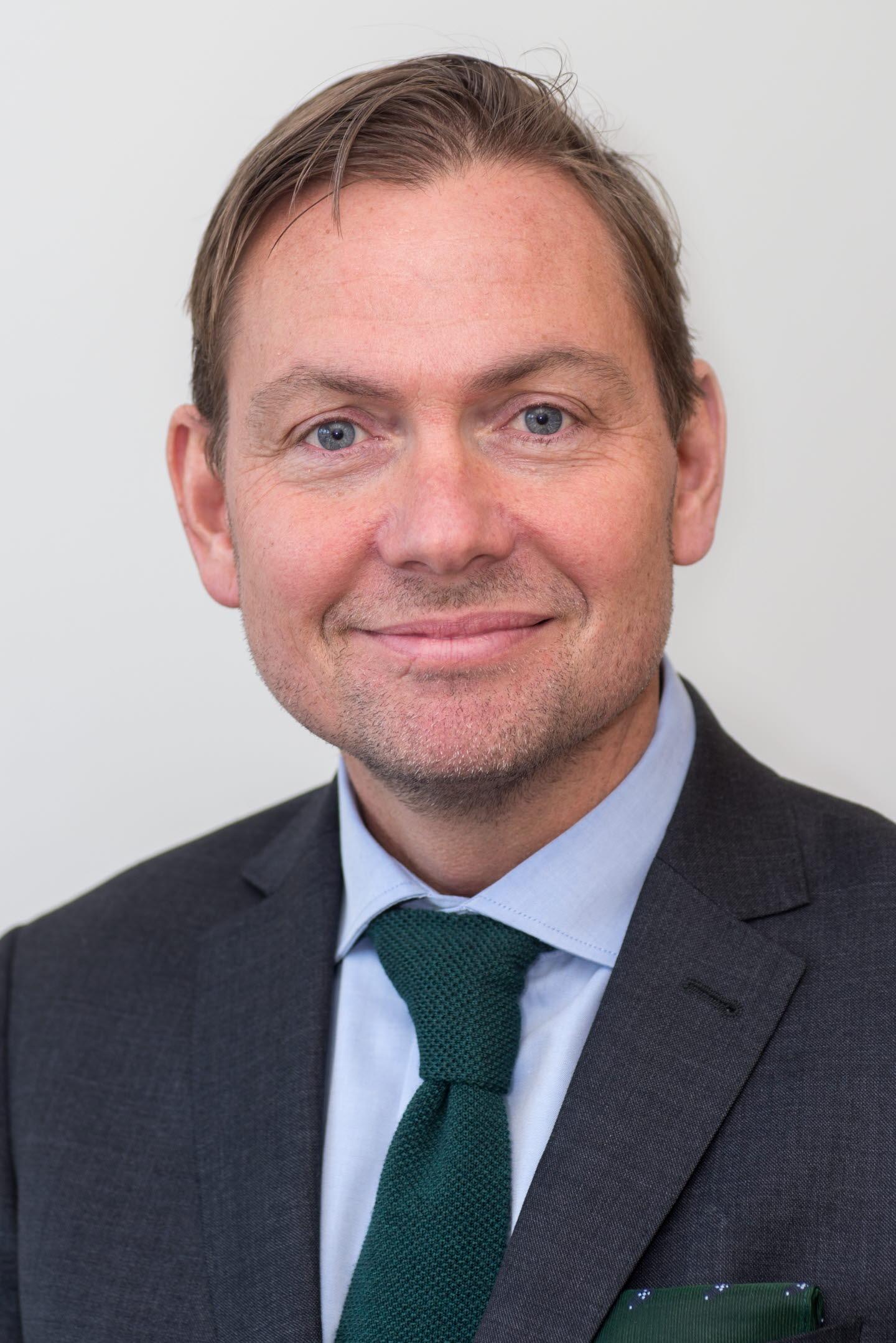 Jörgen Elf, treasury director, finans, SCA.