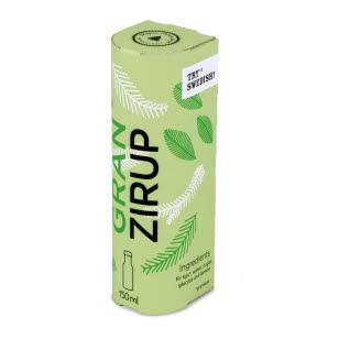 Gran Zirup Arcwise Round front packaging