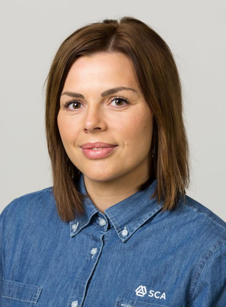 Elin Janum marknadsassistent Norrbotten