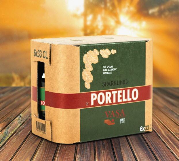 Portello VASA Wrap-around Arcwise packaging