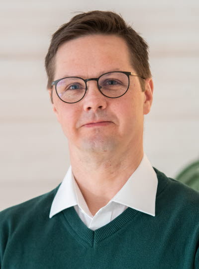 Niclas Andersson, Ordförande för GS-facket på Supply hyvleriet, Tunadal, affärsområde Trä.