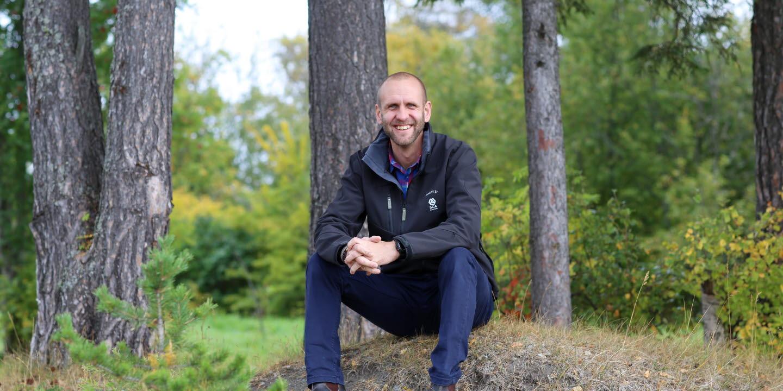 Karl Larsson skogsförvaltare Jämtland