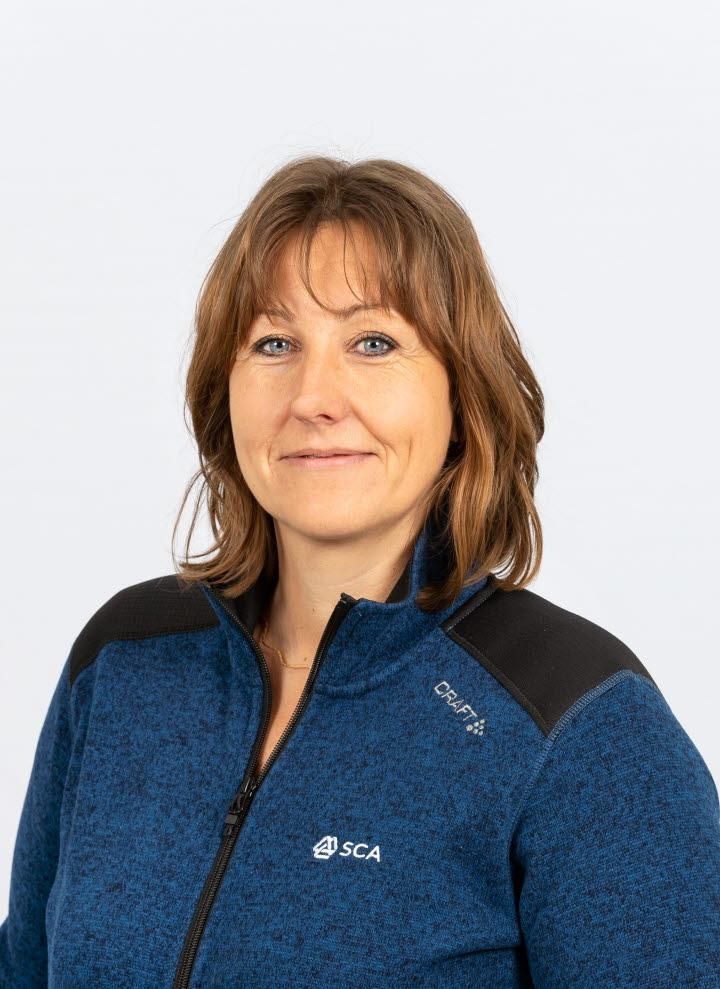 Carola Näslund, administratör Västerbotten