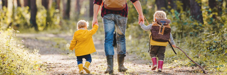 Familj i skogen