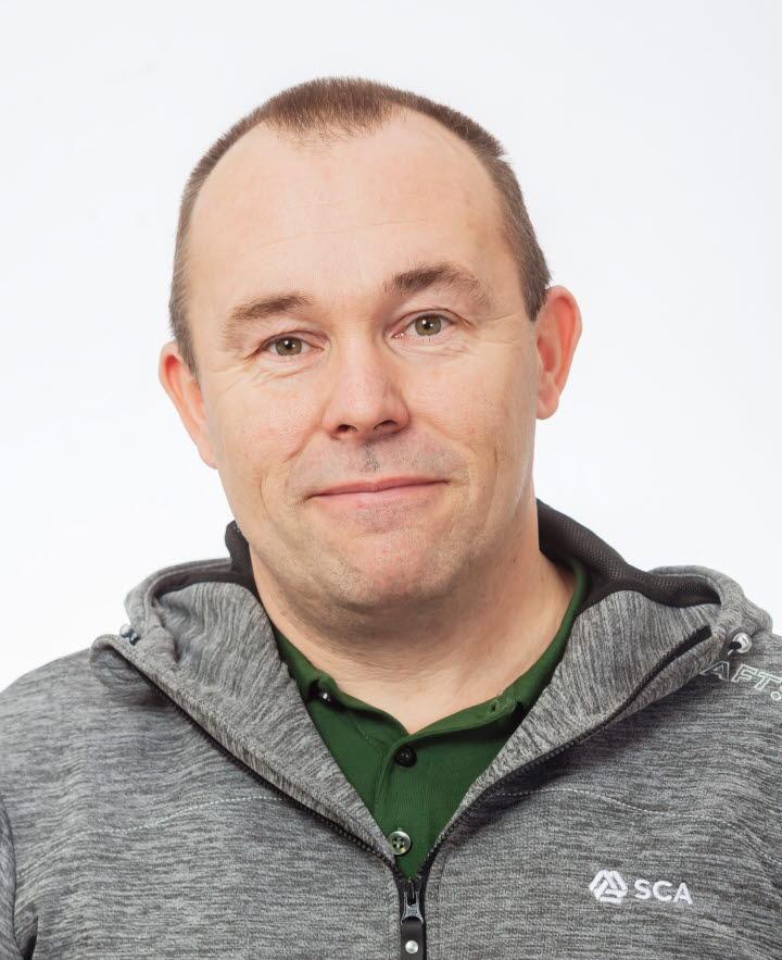 Leif Johansson, virkesköpare Norrbotten
