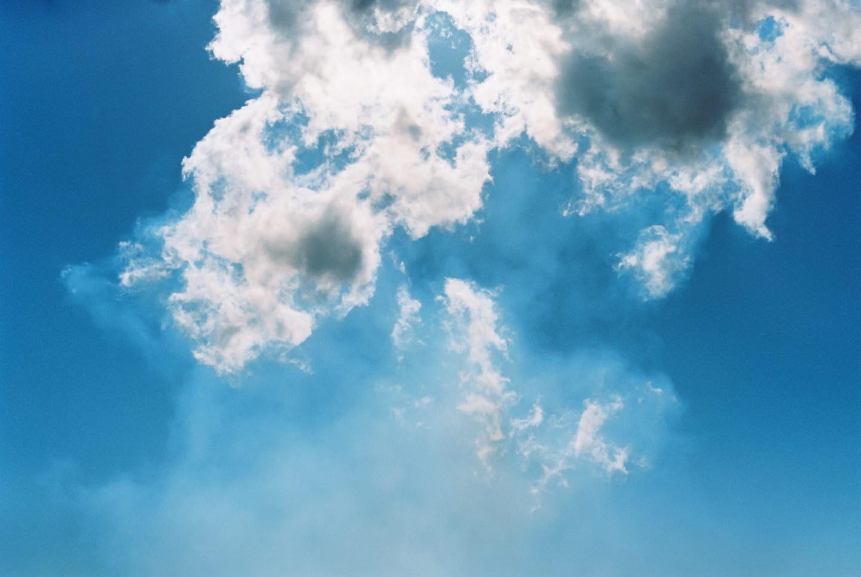 Himmel och moln.