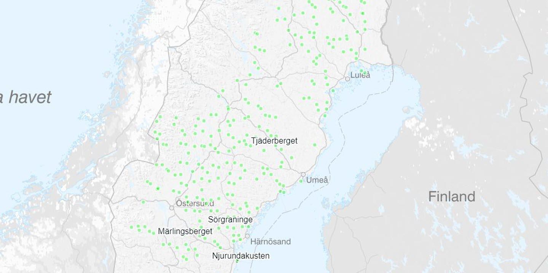 Bild över kartverktyget