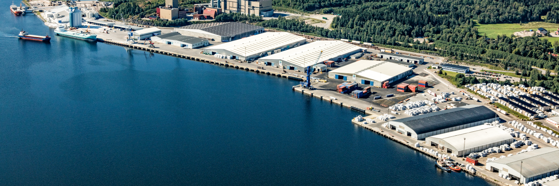 Terminal Sundsvall, SCA Sourcing & Logistics.