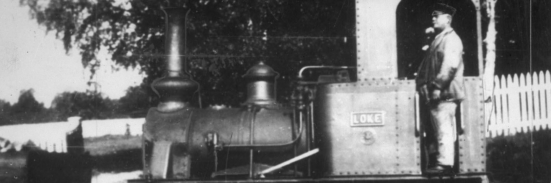 Galtström, Lokomotivet Loke, Johan Albert Nyström