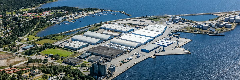 Terminal Umea, SCA Sourcing & Logistics.