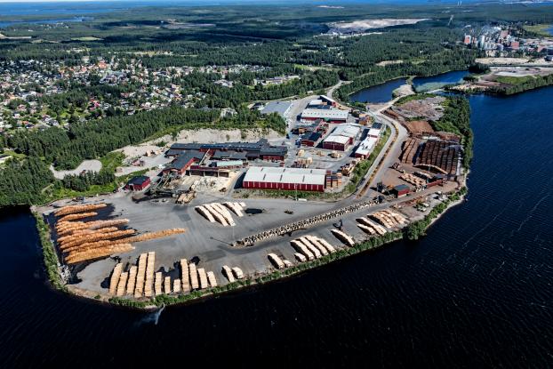 Munksunds sågverk, SCA Timber.
