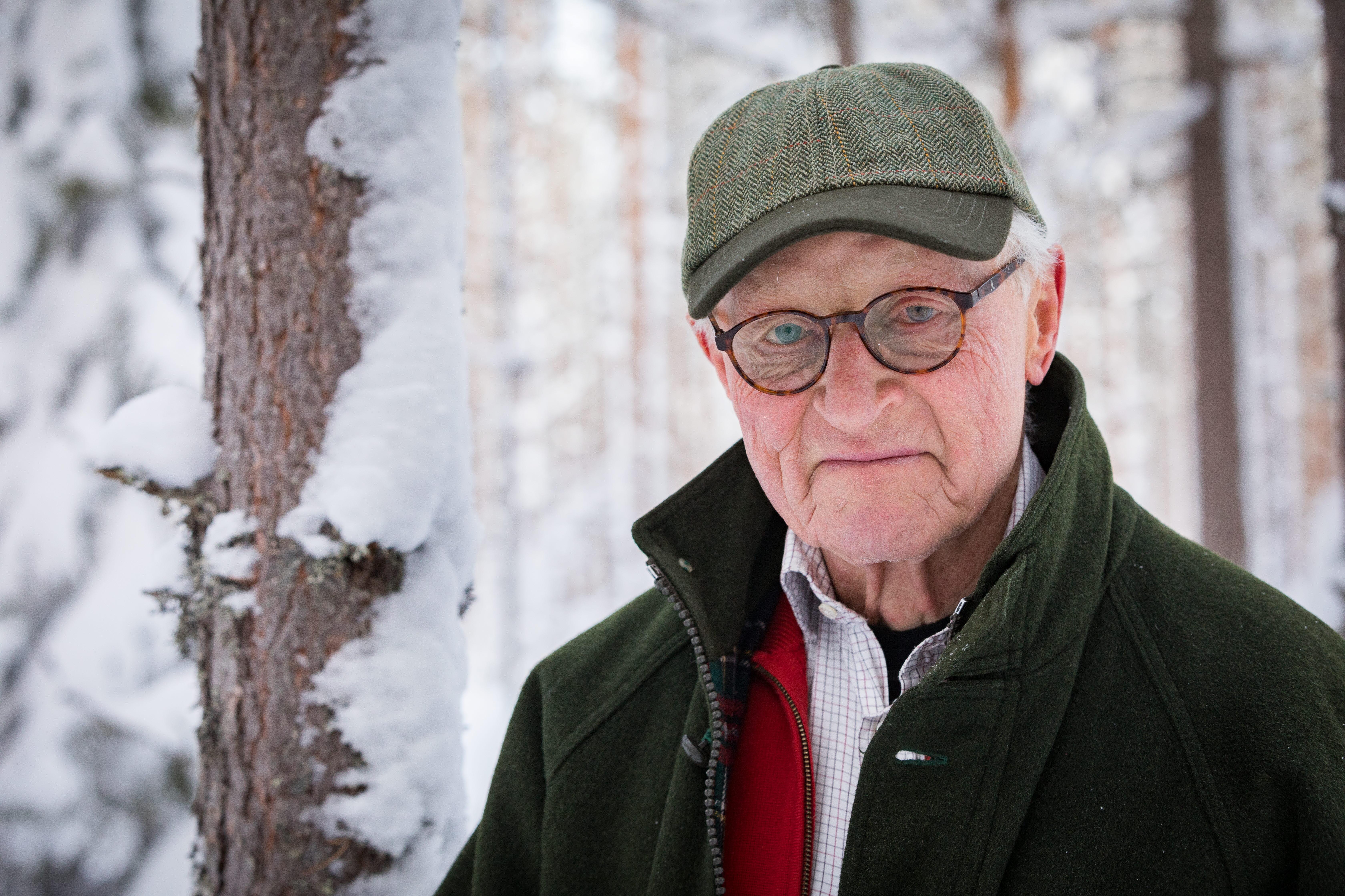 Johan Ekman skogsägare som gödslade sin skog