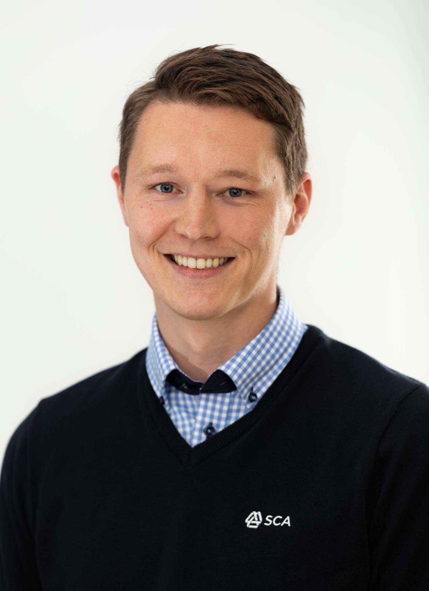 Christoffer Larsson virkesköpare Ångermanland