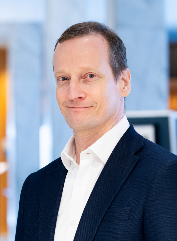 Anders Edholm, kommunikationsdirektör.