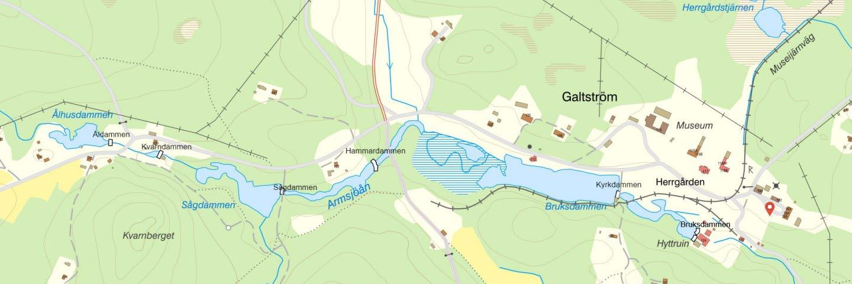 Dammarna i Galtström
