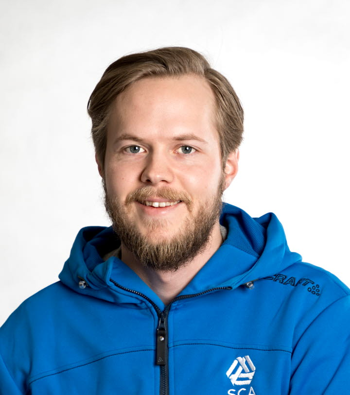 Jonas Eriksson, virkesköpare Medelpads skogsförvaltning.