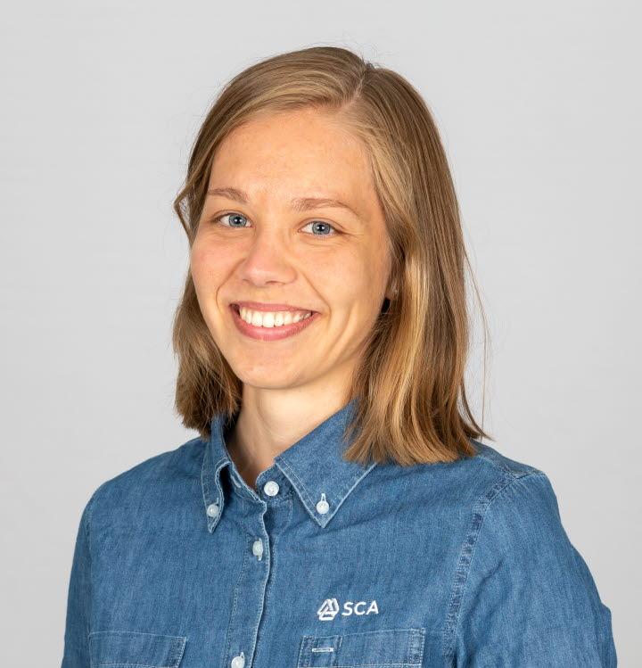 Hanna Kankainen virkesköpare Västerbotten