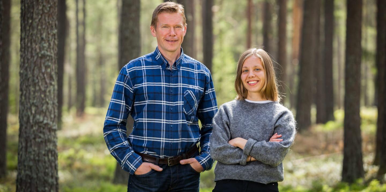 Magnus Westerlund och Hanna Kankainen