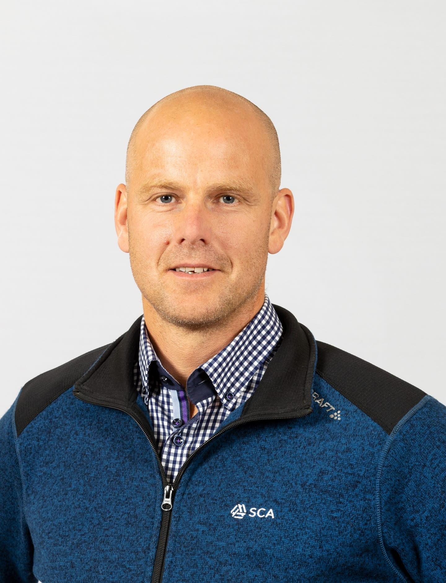 Mattias Larsson, virkesköpare Västerbotten