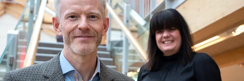 Forest Business Accelerator 2020, Magnus Viström och Regina Duymaz