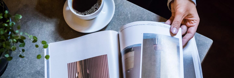 Tidningar och magasin tryckta på papper från Ortviken
