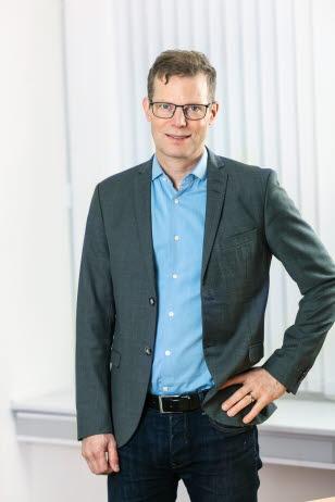 Hans Djurberg, hållbarhetschef. Sustainability Director.