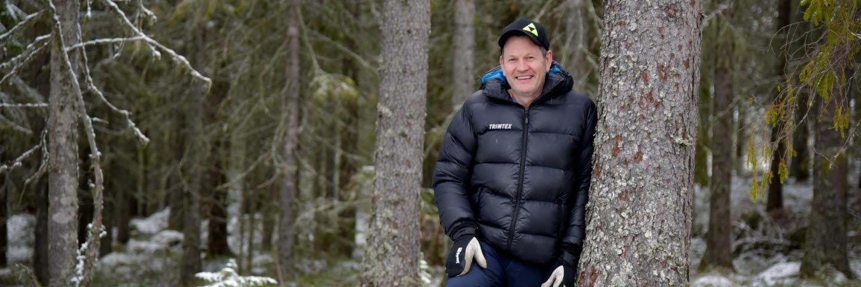 Skogsägare Lars Tallbom