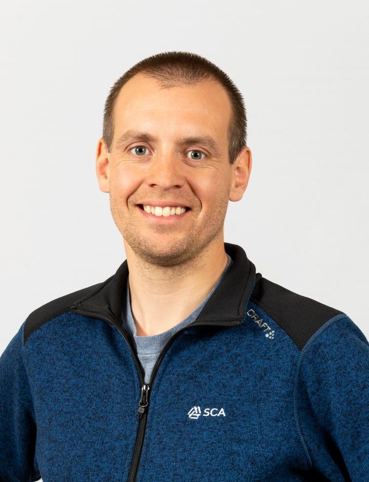 Andreas Stevall, virkesköpare Västerbotten