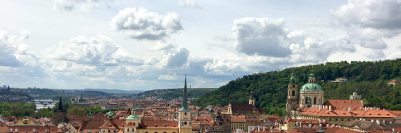 Vybild fr4ån SCA personalstiftelsens anläggning i Prag.