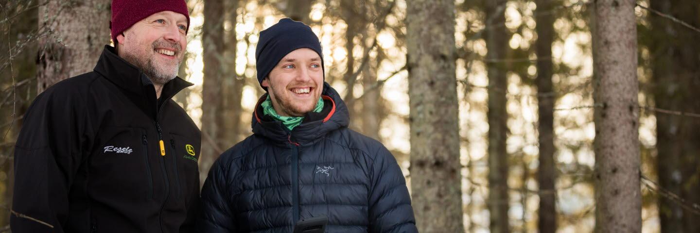 Skogsägare Thomas Nordgren slutavverkning