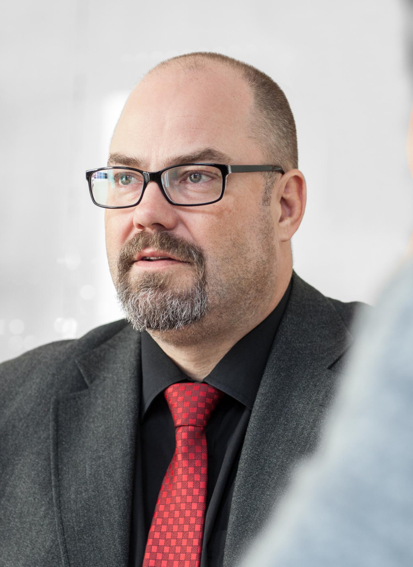 Roger Boström, ordförande Pappers Östrand.
